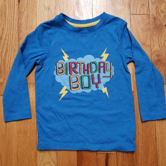 Cat Jack 3T Birthday Boy T Shirt
